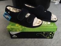 Brand New Celia Ruiz Wide fit slipper shoes