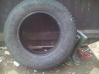Jeep tire for sale exelent condition