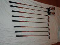LH Founder Original 5-P and 3-4 Hybrid Graphite clubs / Nike bag