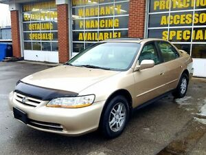 2002 Honda Accord SE 79000KMS ONLY