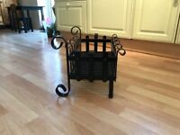 Attractive Fire Basket for Sale £40. Collection only. W. 48cm x H 26. 34