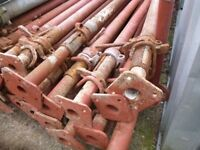 SIZE 1 ACROW PROPS 1.7m-3.0m HEAVY DUTY GALVANISED 2500kg loading capacity