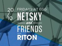4 x tickets NETSKY and FRIENDS with RITON 20/10/17