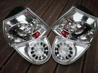 Vw golf mk5 lexus style led rear lights.