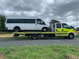 Car recovery , breakdown recovery , vehicle recovery , recovery , towing , transport