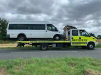 Car recovery , breakdown recovery , vehicle transport