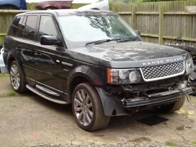 BREAKING FOR PARTS RANGE ROVER SPORT L320 2.7 TD V6 AUTO 2007