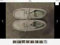 Helly Hanson leather deck/boat shoes size 6