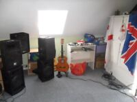 karaoke dj equipment selling due to retirement buyer to collect welcome to view and test