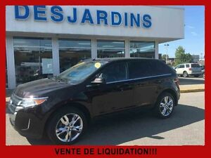 2013 Ford EDGE AWD Limited / CUIR / TOIT OUVRANT / NAVIGATION