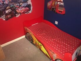 Mcqueen car toddler bed