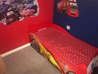 Mcqueen car toddler bed