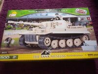 COBI Tiger 131 Small Army World War II The Tank Museum Lego Style Model Building Kit