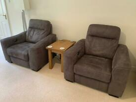 3 piece sofa suite plus foot stool