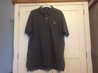 Men's Ralph Lauren polo shirt dark grey xl