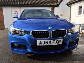"2015 BMW 318d M Sport - Estoril Blue - Professional Media - 19"" Alloys"