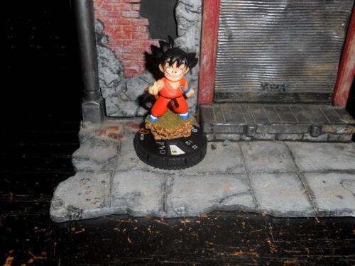CUSTOM Heroclix GOKU - Saiyan Dragon Ball Figure Miniature GOKU-SON KID