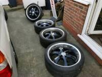 """22"""" alloy wheels £155.00"""