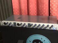 Presonus FireStudio Tube professional FireWire recording system 8 XMAX Class A Preamplifiers