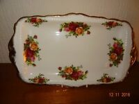 Royal Albert Old Country Rose Sandwich Tray