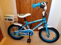 """Apollo Police Patrol Kids Bike 14"""""""
