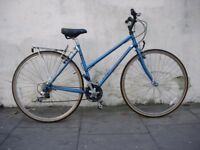 "Women's Hybrid/ Commuter Bike by Specialized, Blue, 19"" Cromo Frame, JUST SERVICED/ CHEAP PRICE!!!"