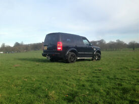 Land Rover Discovery 3 Tdv6 2.7 black with chrome