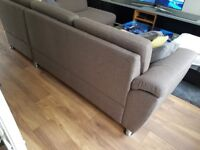 Grey corner sofa. Excellent condition!