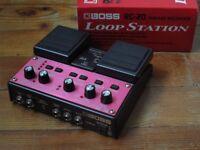 Boss RC-20 looper / loop station - AS NEW