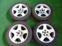 "AUDI, VW SHARAN, PASSAT, GOLF MK5, TOURAN, CADDY, T4, SKODA 16"" ALLOY WHEELS"