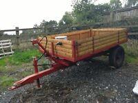 Farm 1.5/2 Tonne Hydraulic Tipping Trailer