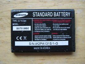 Samsung standard battery BST3108BE