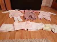 Baby Girls Clothes Bundle 0-3 months