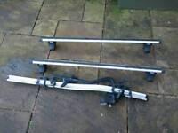 Thule Aero Roof Bars & 591 Bike Rack