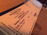 2x chemical brothers tickets standing London
