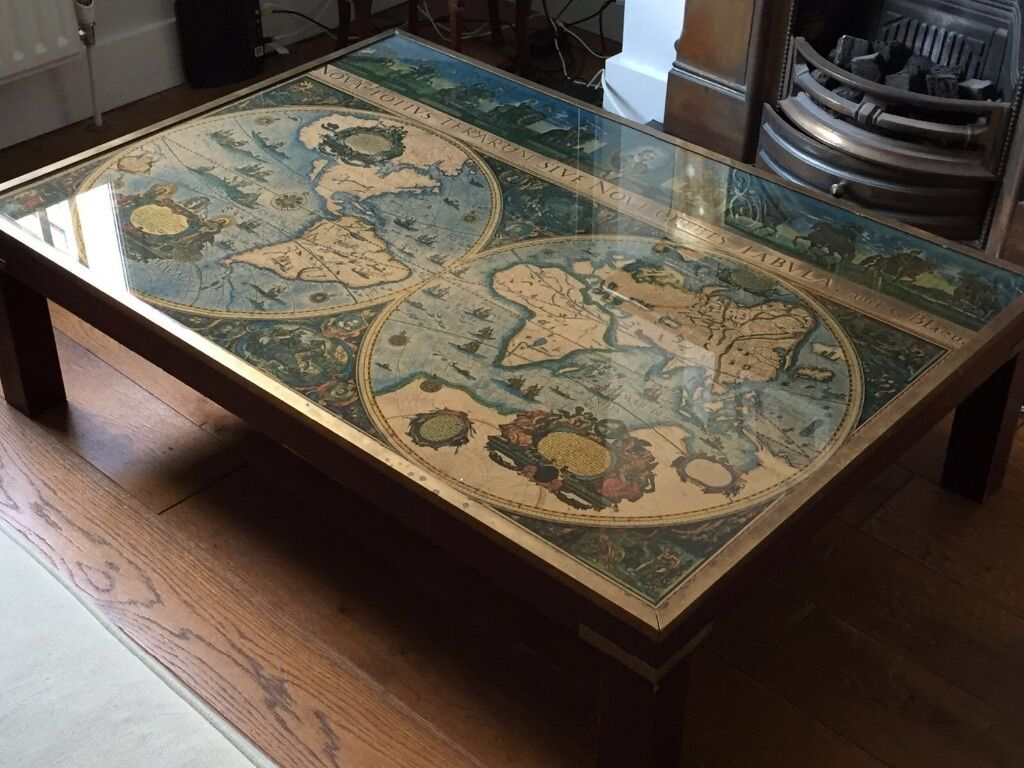 Map Coffee Table Rascalartsnyc