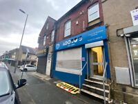 ** shop office to let rent ** takeaway ** spacious ** two floors bd9