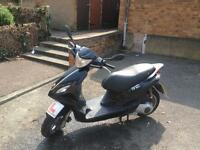 Piaggio Fly 125cc Moped Scooter delivery not gilera honda yamaha 50cc