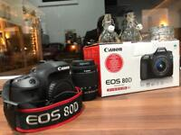 Canon 80d 3 months old immaculate 18 month warranty
