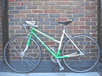 Beautiful Ladies Lightweight bike 7 Speed, Cilo Vitus frame, serviced