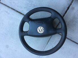 Volkswagen Golf/Passat/Bora SE Leather Steering Wheel