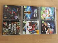 PS3 games, including Geand Tgeft Auto 4