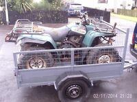6 x4 car trailer