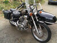 Yamaha Virago XV535 Motorbike with Watsonian Squire sidecar