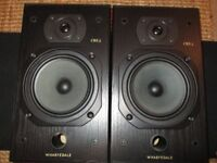 - Wharfedale CRS3 main stereo speakers