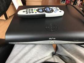 Sky+ hd box and remote