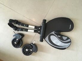 Bump rider, buggy stroller attachments for all prams