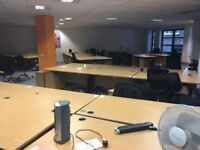 Office furniture clearance with office desks, office chairs etc
