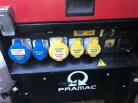Pramac p6000 super silent diesel generator