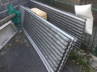 Corrugated roof sheets NOT asbestos